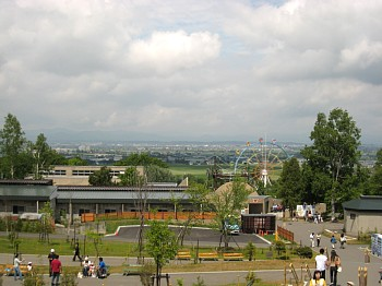 旭山動物園の眺め