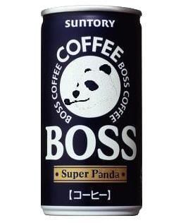 缶コーヒーBIGBOSS