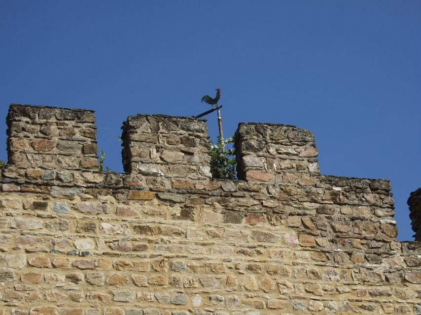 351Estremoz城壁の風見鶏