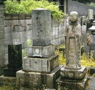 市村鉄之助・辰之助の墓2