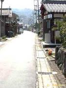 番場宿の出口(京側見附)付近