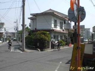 武佐・朝鮮人街道の分岐点