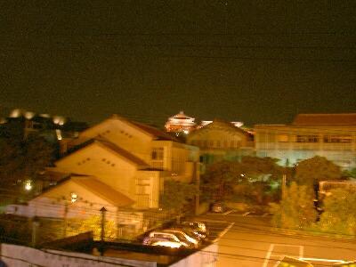 夜の首里城