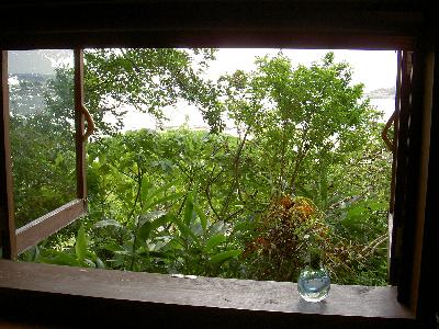 山の茶屋 窓席