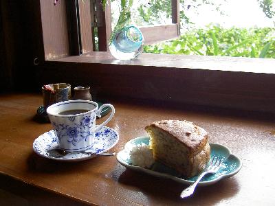 山の茶屋 ケーッキセット
