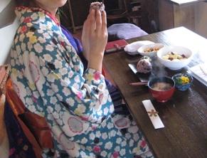陽子ちゃんお食事