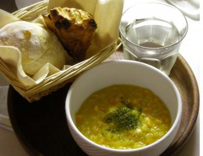 カボチャと人参のスープ 2008.10.3