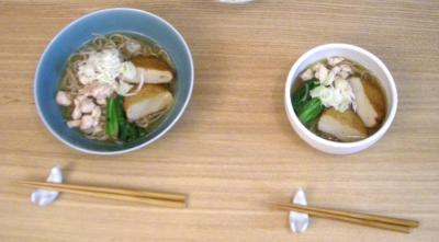 温かいお蕎麦 2008.10.6