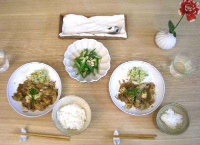 豚ロースのソテー 味噌&チーズで味付け!!2008.10.8