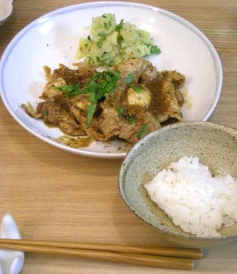 豚ロースのソテー 味噌&チーズで味付け!2008.10.8