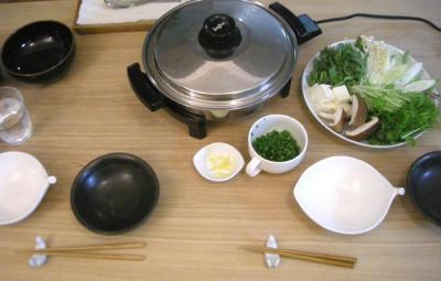 ぽかぽか鶏鍋 2008.10.9