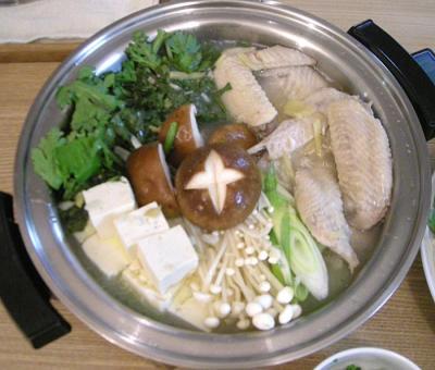 ぽかぽか鶏鍋 野菜もたっぷり!2008.10.9