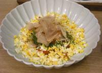 オニオン&エッグの和風サラダ 2008.10.12