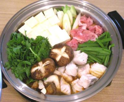 キムチ鍋でポッカポカ!2008.10.25