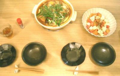 味噌煮込み鍋うどん。2008.11.11