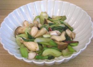 ひいかとイロイロ野菜の炒めモノ 2008.11.15