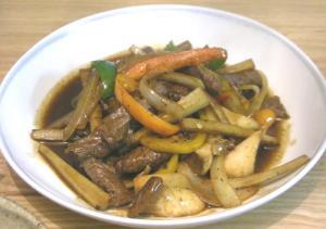 青椒肉絲 2008.12.7