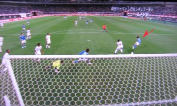 38 shinji first goal