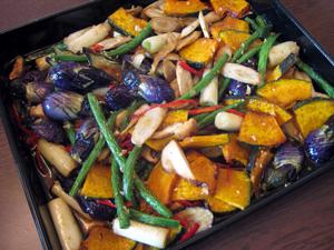 秋野菜のマリネ