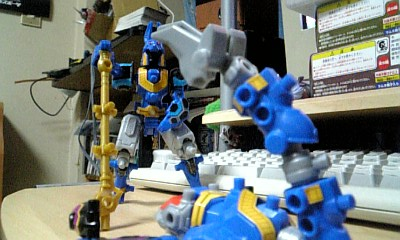 五神獣-スコーピオンとの和解