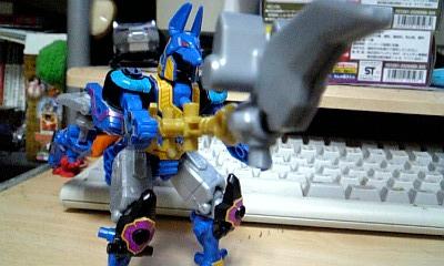 五神獣-ユニゾン・アヌビス+スコーピオン 戦闘イメージ