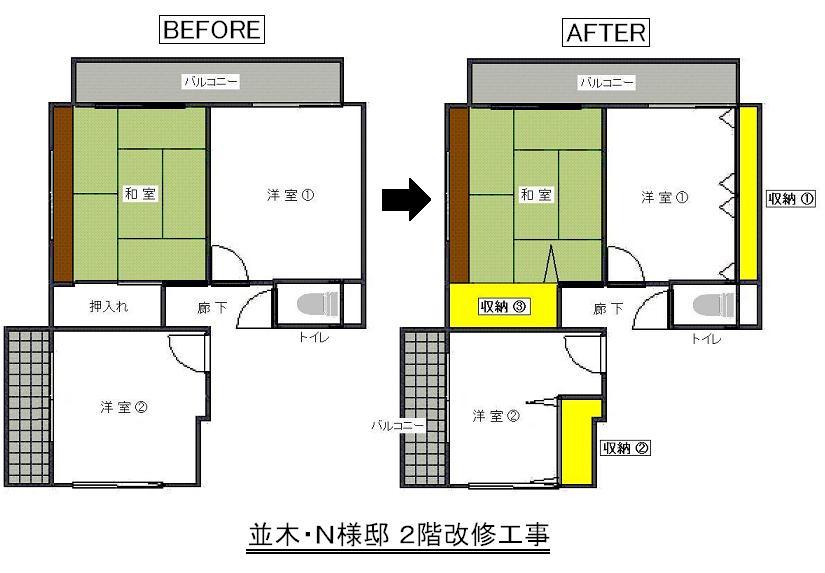 中島邸平面図
