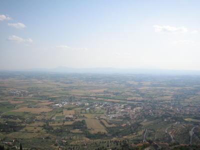 要塞から見た景色