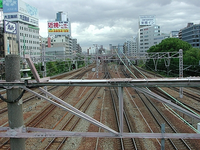 線路を見たいなら新大阪へ行け