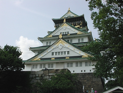 大阪城らしい写真
