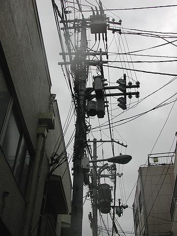 好みの電柱&電線