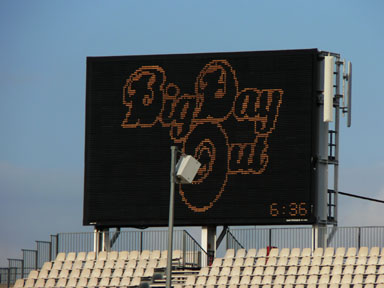 big day out screen