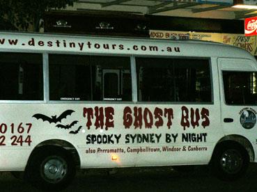 sydney spooky bus