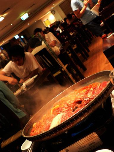 korean BBQ seoul-ria