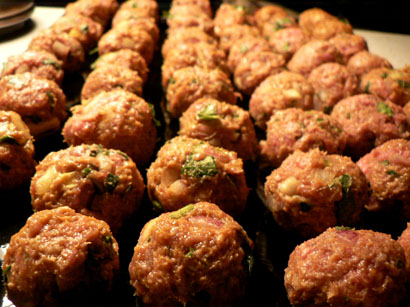lamb meat ball
