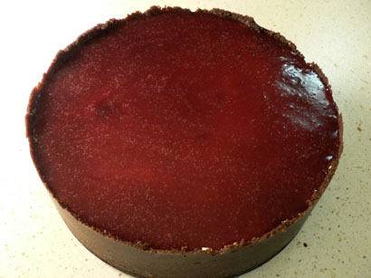 darkcherry chease cake