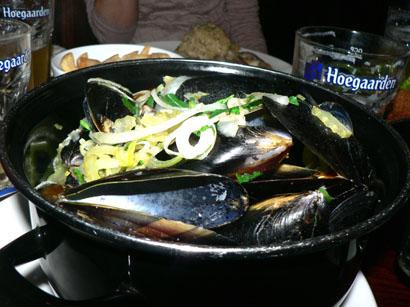 ムール貝鍋