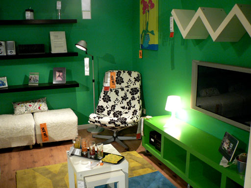 IKEA Green room2