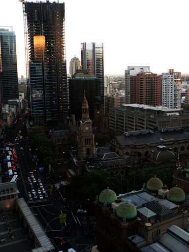 View from Hilton sydney2