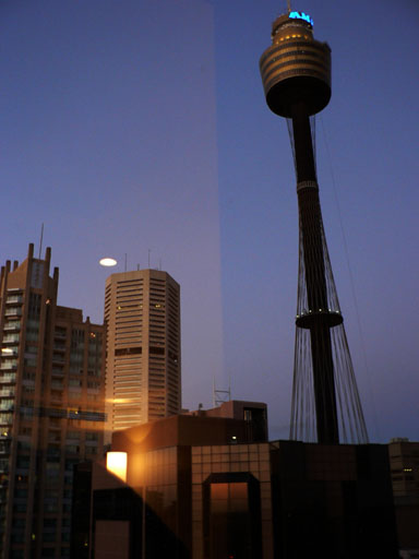 View from Hilton sydney3