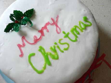 xmas cake 2-4
