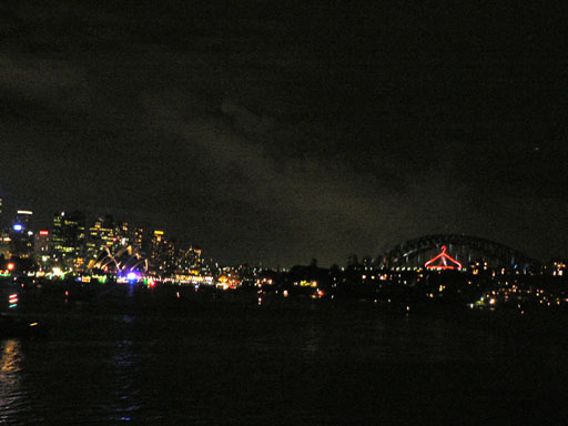 Sydney New Years Eve Fireworks 2006-8