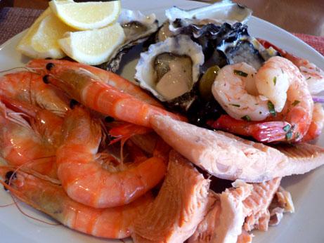 seafood at shangri-la