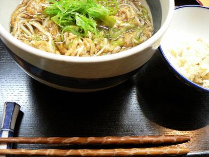 九条ねぎ蕎麦