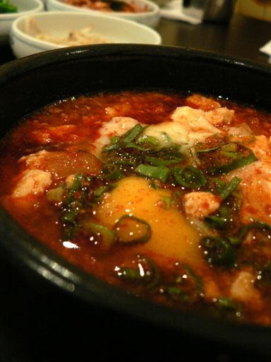 sliky tofu stew