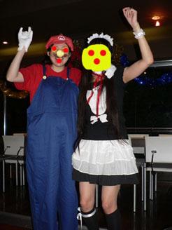 mario and maid