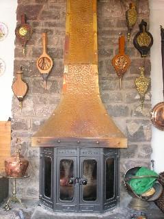 wales 暖炉