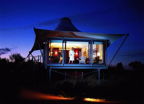 longitude 131 tent