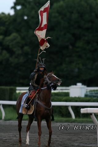 甲冑返し馬