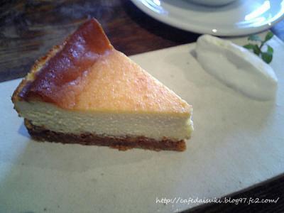 HANG CAFE◇くるみのチーズケーキ
