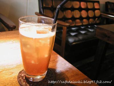 marusan foods◇白桃ピーチ酢のソーダ割り